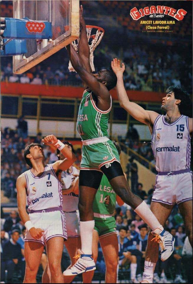 Anicet Lavodrama - Pro basketball in ACB League Spain