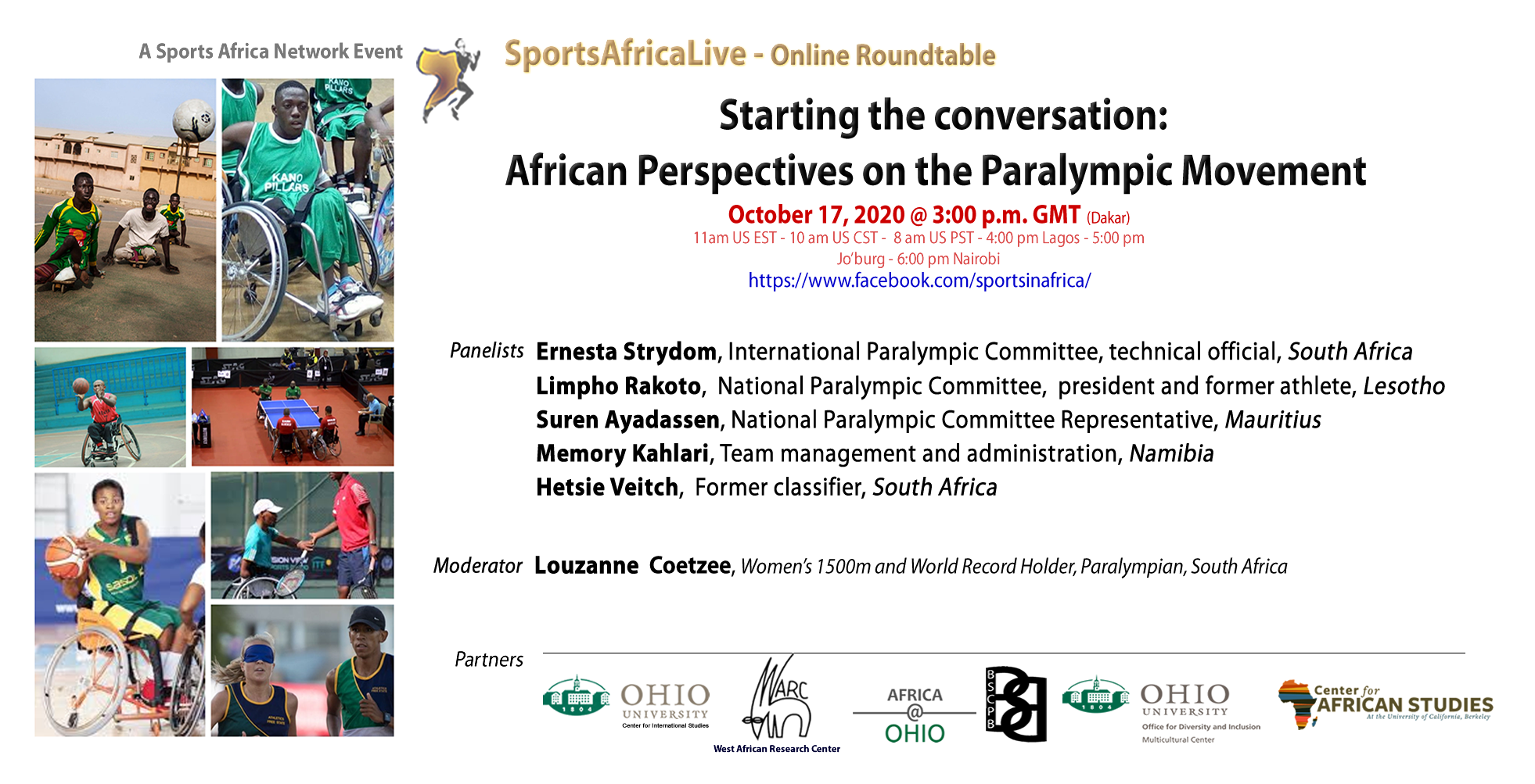 African Perspectives on the Paralympic Movement